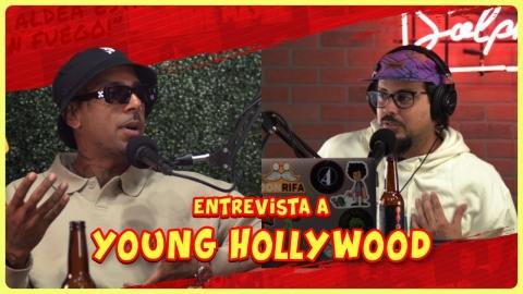 A Young Hollywood lo botaron de casa de Drake!!! 😱😱😱
