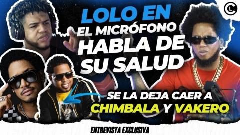 """LOLO EN EL MICRÓFONO LLENO CON CHIMBALA. FUEGO A VAKERO """"SE LE..."""