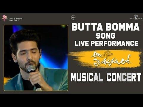Butta Bomma Live Performance @ Ala...