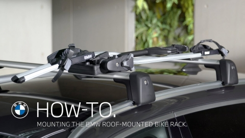Mounting the BMW Roof-Mounted Bike Rack – BMW How-To