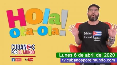 Alex Otaola en Hola! Ota-Ola en vivo por YouTube Live (lunes 6 de...