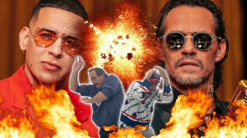 Marc Anthony y Daddy Yankee mandan FUEGO 🔥🔥🔥