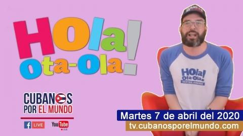 Alex Otaola en Hola! Ota-Ola en vivo por YouTube Live (martes 7 de...