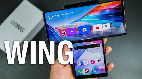 LG WING Unboxing & First Look!