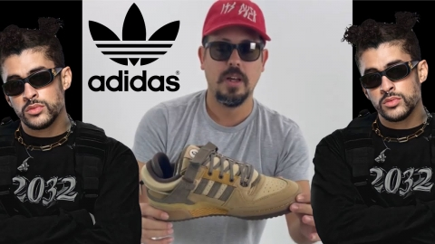 UNBOXING de Bad Bunny x Adidas Forum Low