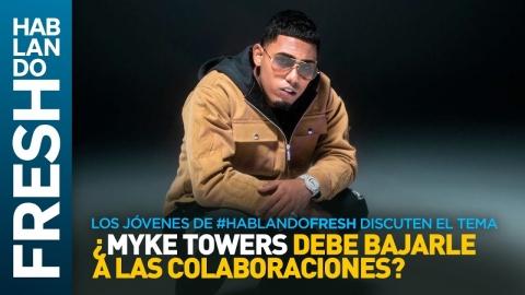 """ANTESALA LYKE MIKE de MYKE TOWERS """"Los jóvenes de #HablandoFresh discuten del disco"""" 🔥🔥🔥"""
