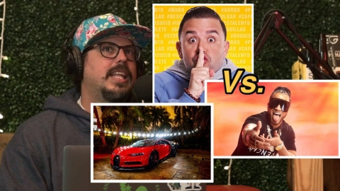 Lo que monetizaron en YouTube El Alfa y Molusco con el Bugatti