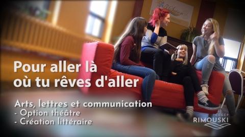 DEC | Arts, lettres et communication - Théâtre / Création...
