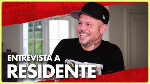 Última entrevista exclusiva a RESIDENTE  desde su residencia en Los Ángeles 🔥🔥🔥