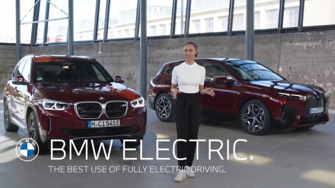 The best use of fully electric driving. BMW Electric.