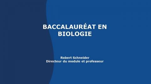 Baccalauréat en biologie