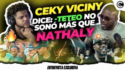 """CEKY VICINY NO NECESITA GRABAR CON EL ALFA """"EL JEFE"""" CONFIESA QUE..."""