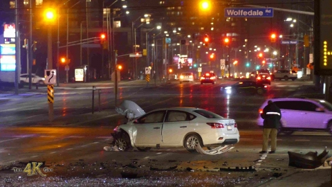 Mississauga: Two men killed in two separate traffic collisions...
