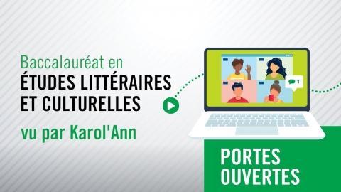 Baccalauréat en études littéraires et culturelles