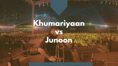 JUNOON VS KHUMARIYAAN  TAMASHA// SAEEN // LIVE IN...