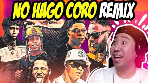 REACCIONANDO A NO HAGO CORO REMIX 😂 FARRUKO, EL ALFA, BRYANT MYERS, ETC