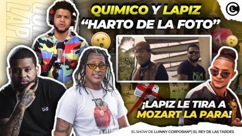 LAPIZ CONCIENTE QUEMA FEO A MOZART EN NUEVA CANCIÓN CON QUIMICO...