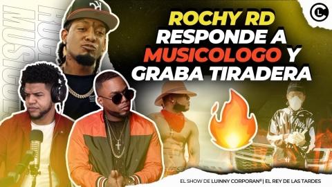 "ROCHY RD LE RESPONDE A MUSICOLOGO EL LIBRO ""ESTA GRABANDO TIRADERA..."