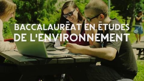 Baccalauréat en études de l'environnement