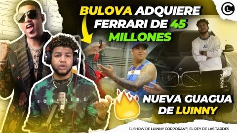 """BULOVA COMPRA FERRARI DE 45 MILLONES DE PESOS Y LUINNY BMW """"FIGURAS..."""