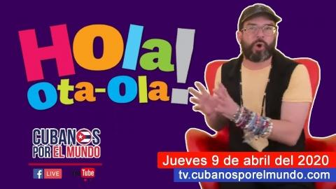 Alex Otaola en Hola! Ota-Ola en vivo por YouTube Live (jueves 9 de...