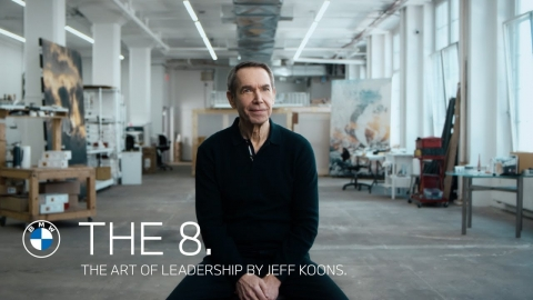 THE ART OF LEADERSHIP. Jeff Koons and the BMW 8 Series Gran Coupé.