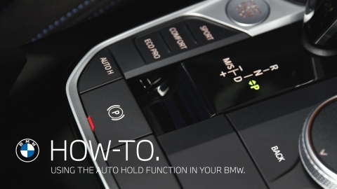 How to use the Auto Hold function in your BMW – BMW How-To
