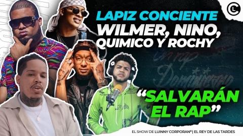 """LAPIZ CONCIENTE GRABARÁ CON ROCHY RD, WILMER, NINO Y QUIMICO """"LAS..."""