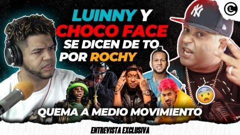 CHOCO FACE Y LUINNY SE DICEN DE TO POR ROCHY. ACABA A EL ALFA, YOMEL,...