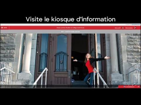 Visite guidée de nos Portes ouvertes virtuelles