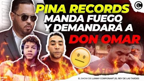 "PINA RECORDS DEMANDARA A DON OMAR ""DADDY YANKEE PUEDE PARA ESA..."