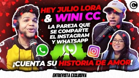 JULIO LORA Y WINI COMPARTEN LA CLAVE DE INSTAGRAM...