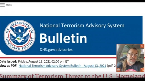*ALERT* NEW DHS Bulletin Warns That Americans Who Criticize...