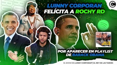 """LUINNY FELÍCITA A ROCHY RD """"ÚNICO ARTISTA DOMINICANO EN PLAYLIST..."""