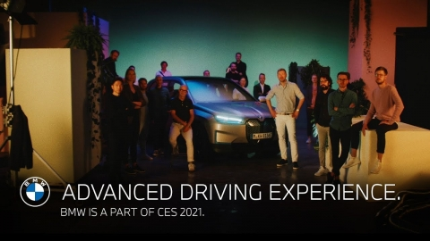 Advanced driving experience. BMW is a part of CES 2021.