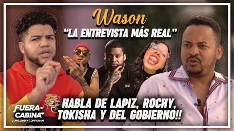 WASON BRAZOBAN SE DESAHOGA! HABLA DE LAPIZ, ROCHY RD, EL ALFA,...
