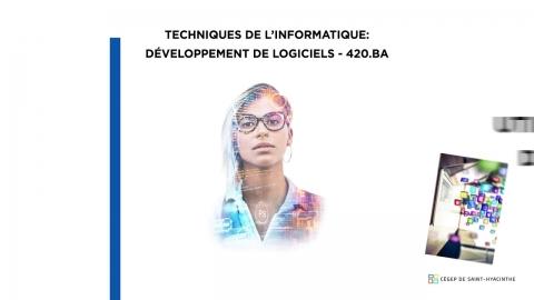 DEC | Techniques de l'Informatique - Développement de logiciels