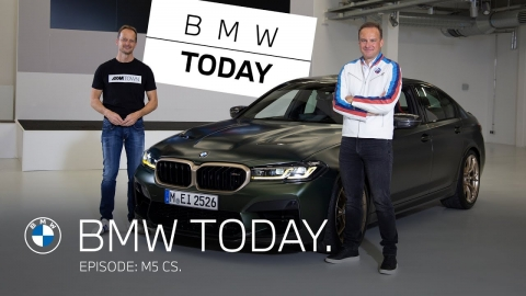 BMW Today – Episode 28: M5 CS.