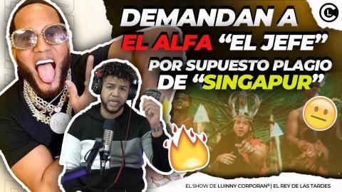 """DEMANDAN AL ALFA """"EL JEFE"""" POR PLAGIO DE LA CANCIÓN..."""