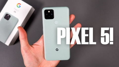 PIXEL 5 UNBOXING and Tour!