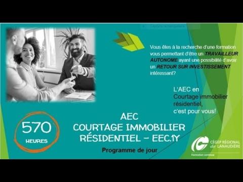 AEC | Courtage immobilier résidentiel (jour)