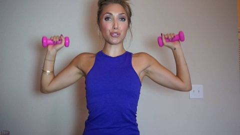 5 minute arm workout- get long, lean, toned arms