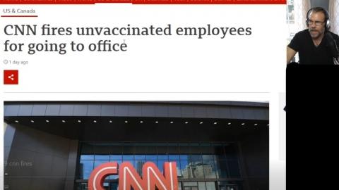 It Begins!  CNN Terminates 3 UNvaxxed Employees