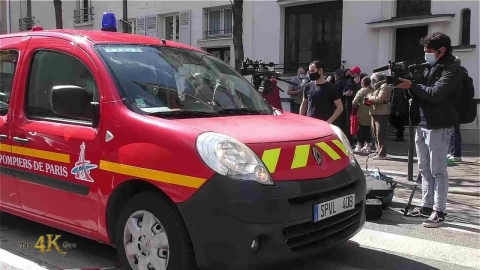 Paris: Hospital security guard in critical condition after shooting...