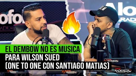 EL DEMBOW NO ES MUSICA PARA WILSON SUED (ONE ON...