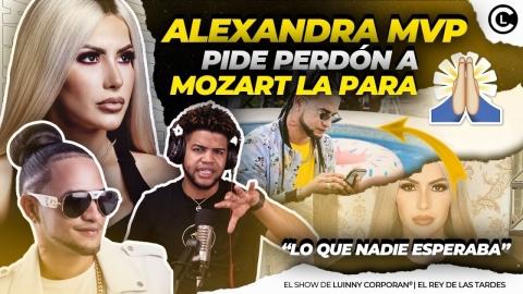 """ALEXANDRA MVP DA RESPUESTA LETAL A MOZART LA PARA """"LO QUE NADIE SE..."""