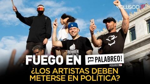 ¿ Los artistas deben meterse en temas de política como Residente y Bad Bunny ?TIRAERA en #ElPalabreo