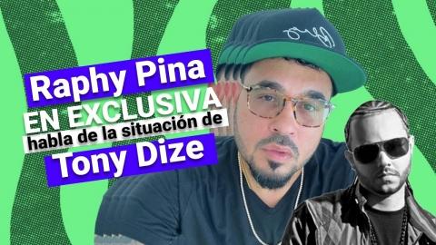 Raphy Pina EN EXCLUSIVA habla de la situación de Tony Dize | Enrique...