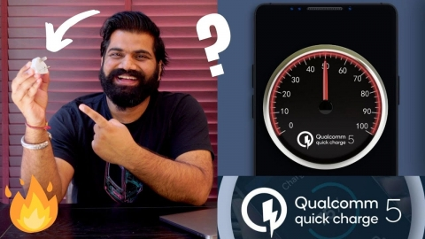 0-100% In 15 Mins | Qualcomm Quick Charge 5 Is Amazing!!!