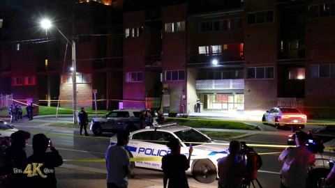 Mississauga: One shot at Darcel apartment complex in Malton 9-2-2020
